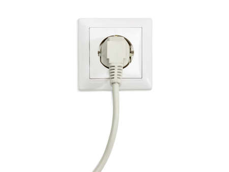 White Socket Outlet European Standard With Connected Corresponding ...