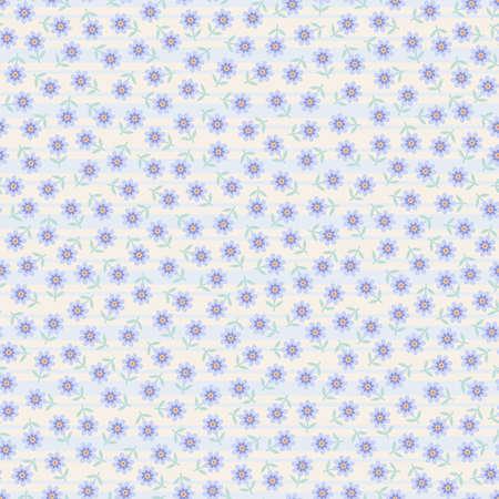 Patr�n floral transparente con rayas