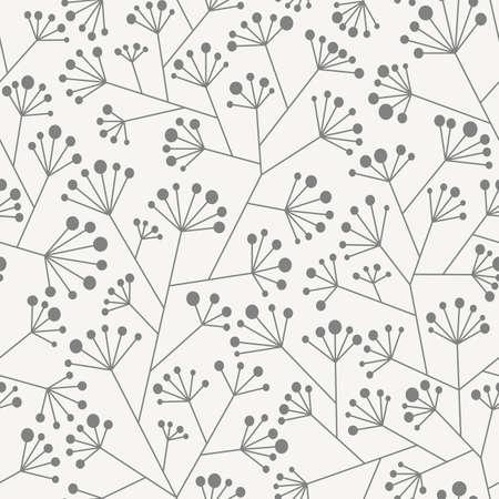 Abstract pattern senza soluzione di continuit� in due colori