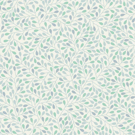 treelike: Abstract seamless background in pastel colors Illustration