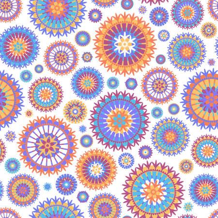 Colorful seamless background.  illustration Illustration