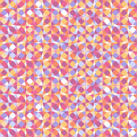 Multicolored abstract geometric seamless pattern