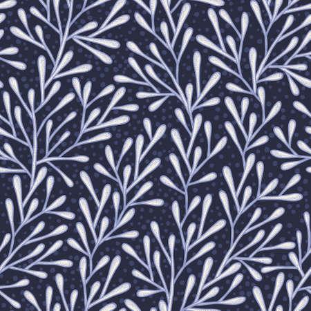 Abstract pattern senza soluzione di continuit� nei colori blu