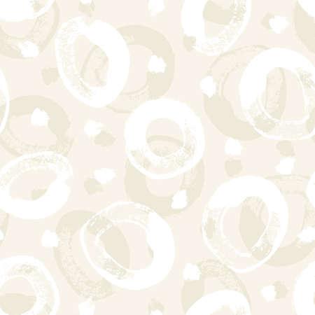 Abstract seamless pattern da pennellate cerchio in colori pastello