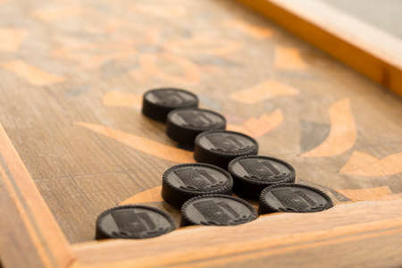 Board for a game of backgammon