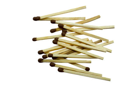 Matches isolated against a white background