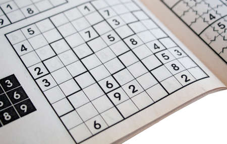ordinal: crossword sudoku - popular puzzle game with numbers