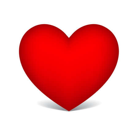 red heart 일러스트