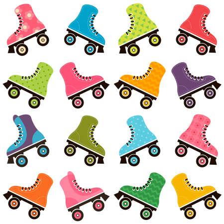 patines fijados