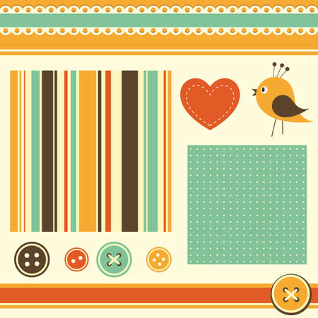 elements for scrapbooking