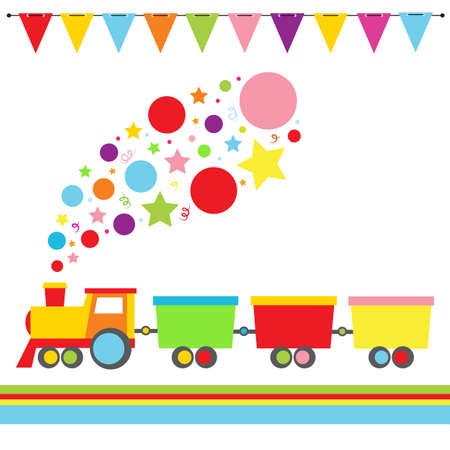 Cartoon Locomotive