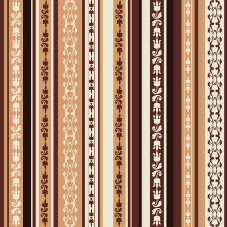 brown pattern: brown pattern with ornaments