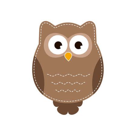 owlet: Cartoon owlet