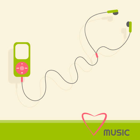 mp: green music player