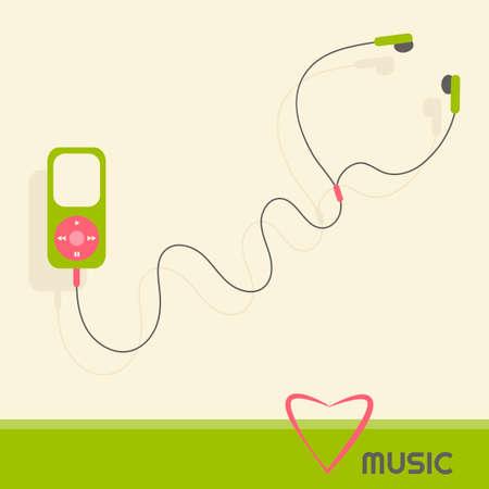mp: green music player