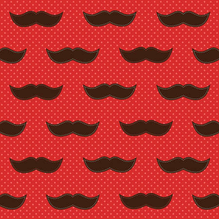 mustaches: Background with mustaches