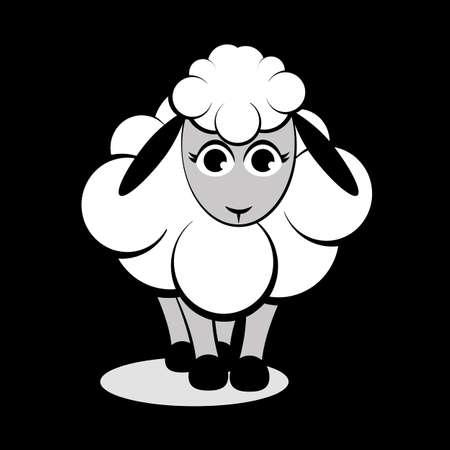 cute: Cute sheep Illustration