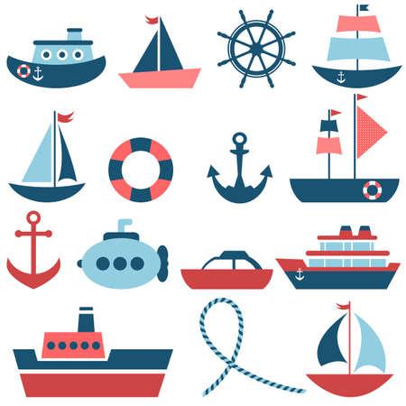 sea transport: sea transport set