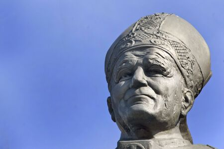 statue of Pope John Paul the second photo