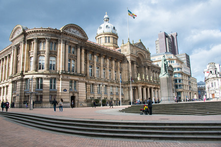 Victoria Square in Birmingham, England, United Kingdom