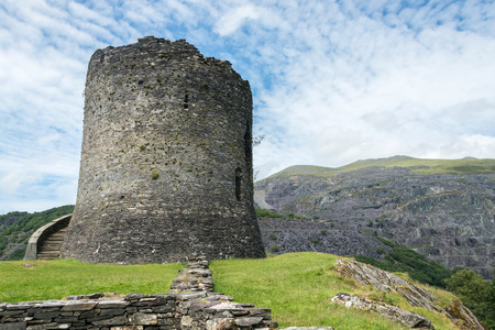 Dolbadarn Castle, a 13th century castle in Llanberis, North Wales Wales