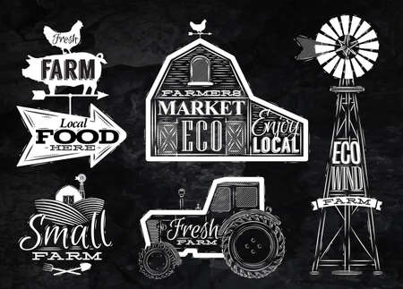 Farm vintage kréta