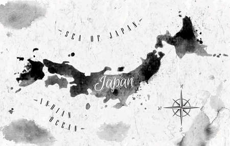Japan Map Stock Photos Royalty Free Business Images
