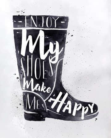 calcanhares: Poster botas mulheres na rotula