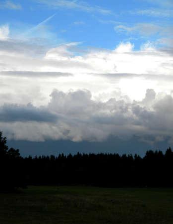 ciel couches, du bleu au gris