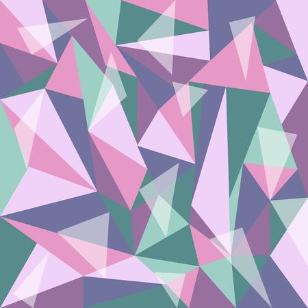 motley: polygon beautiful motley background