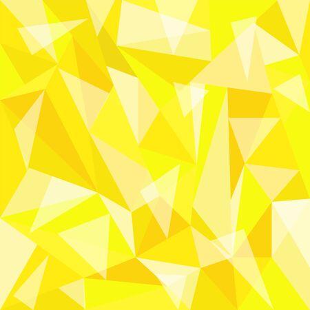 polygon beautiful yellow background