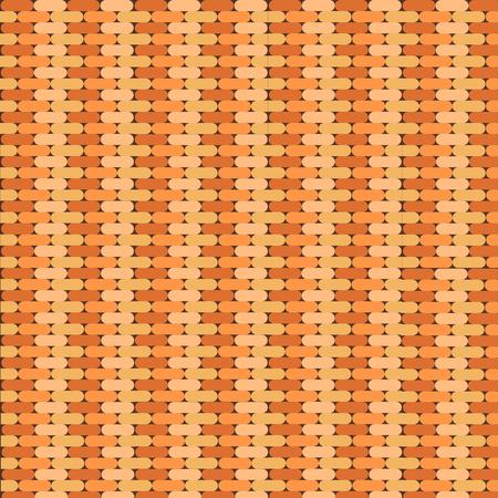 background with brown bricks Illusztráció