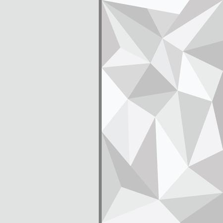 leaden: polygon beautiful gray background