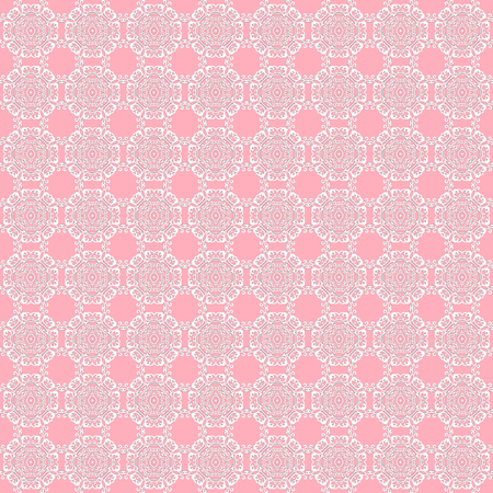 Air lace on pink wallpaper