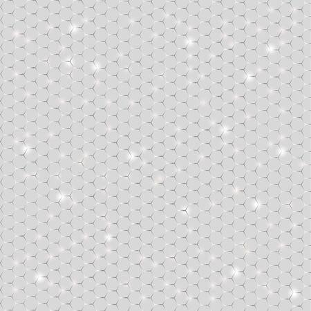 mesh: shiny metal mesh for design