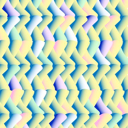 illusory: beautiful multicolored illusory three-dimensional pattern Illustration