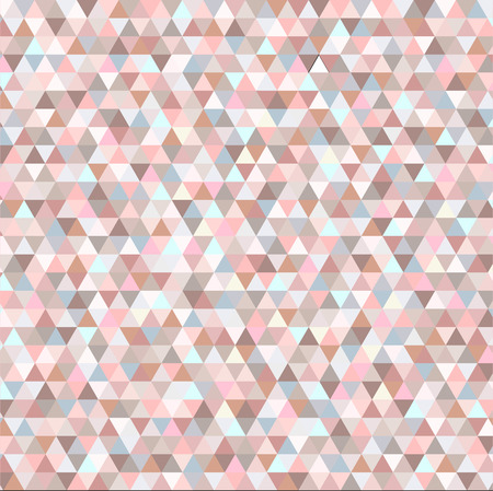 nice colorful background of triangles Illustration