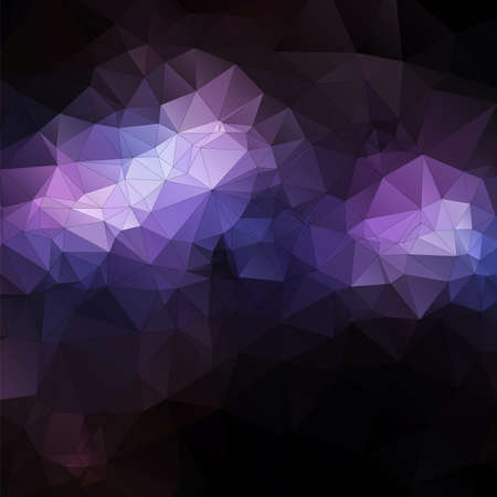 Beautiful purple abstract polygonal background. Vector illustration.