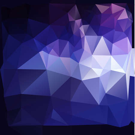 Abstract colorful polygonal background. Vector illustration.