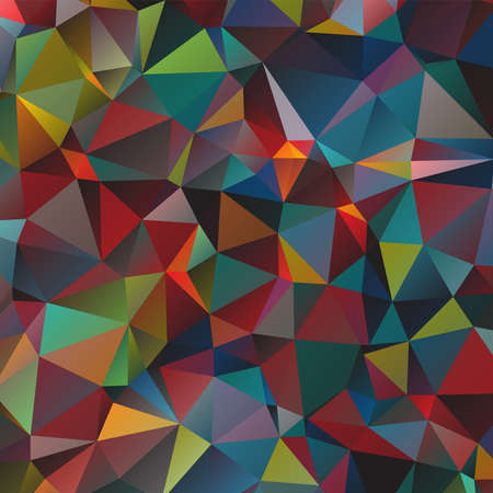 Abstract background with polygonal shapes. Vector illustration. Vettoriali