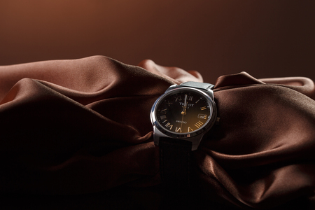 Tissot watches, shooting April 23, 2016, St. Petersburg, Russia 스톡 콘텐츠