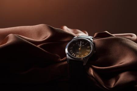 Tissot watches, shooting April 23, 2016, St. Petersburg, Russia Standard-Bild