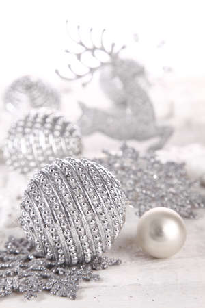 bauble: Silver baubles