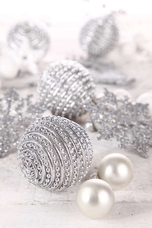 Silver decorations Stock Photo - 11386597
