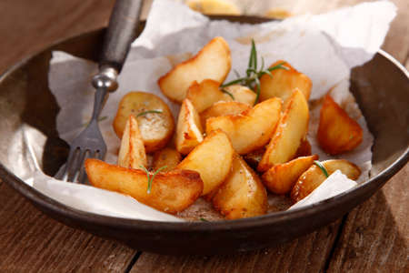 baked potatoes: Baked potatoes with thyme