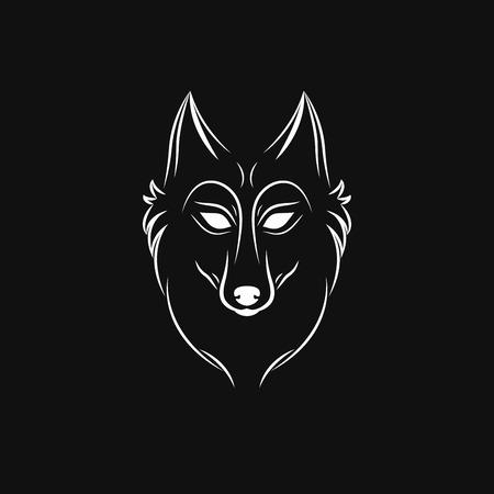 wolf logo designs