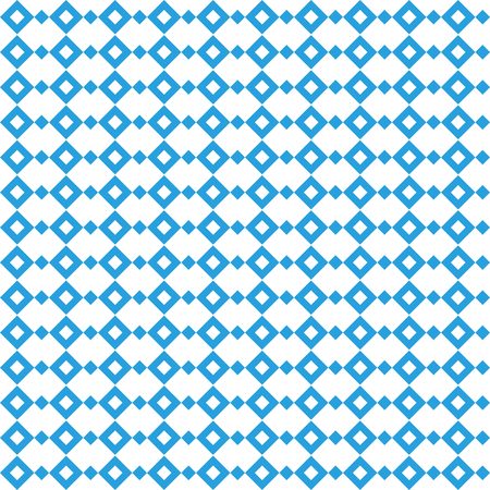 Octoberfest pattern. October munich fest background. Rhomb octoberfest blue ornament. Seamless traditional German pattern Illustration