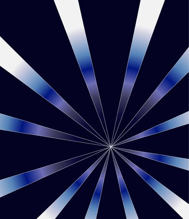 Abstract background. Dark blue. Stripes. Gradient. Boreal. Illustration