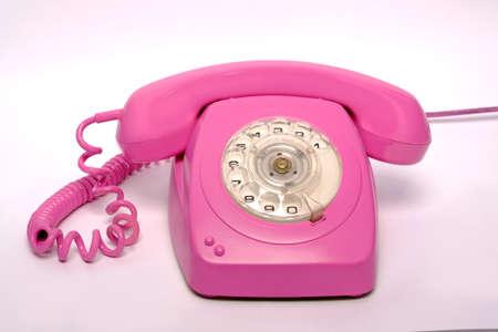 固定電話ピンクの固定電話番号