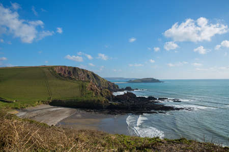 burgh: Ayrmer Cove South Devon Uk
